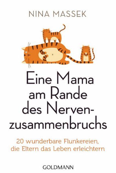 Nina Massek – Eine Mama am Rande des Nervenzusammenbruchs. Dieses schöne Buch ist ein etwas anderer Erziehungsratgeber. Nina Massek findet: Der Zweck heiligt die Mittel! So gesehen kann Flunkern eine gute Erziehungsmaßnahme sein... Themen: Humor, Familie, Kinder, Erziehung, Buch, Book