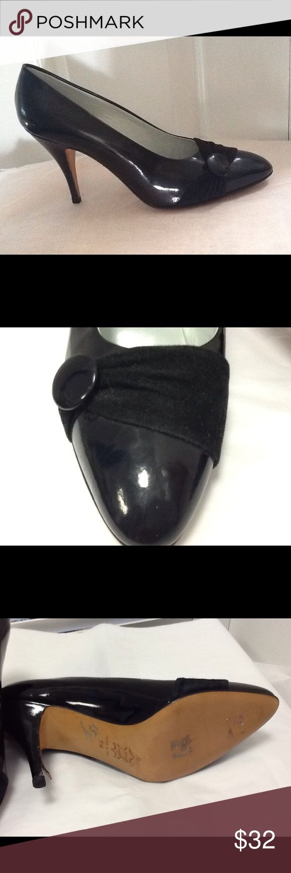 Martinelli di Mola black patent leather shoes Sz 9 Martinelli di Mola black patent leather shoes Sz 9 Martinelli di Mola Shoes Heels