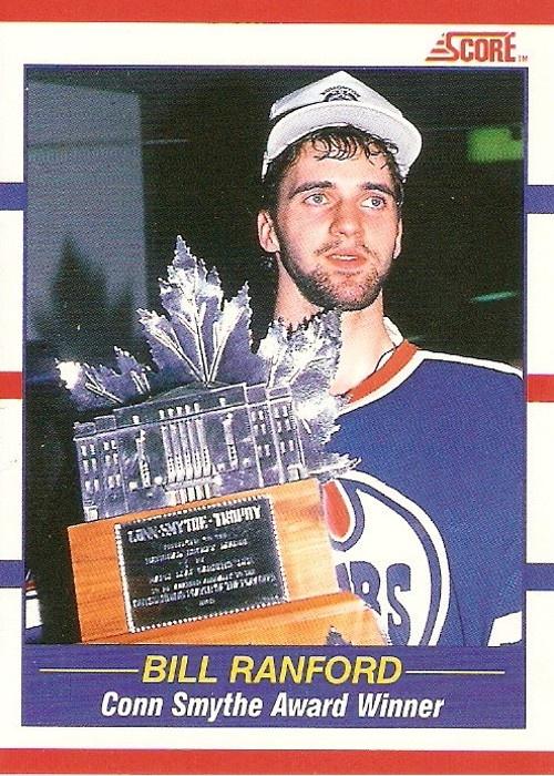 1990   Edmonton #Oilers goalie Bill Ranford.