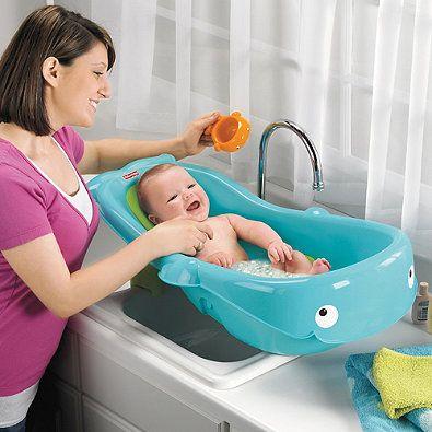 Fisher PriceR Precious Planet Whale Of A TubTM Newborn To Toddler Bath Tub