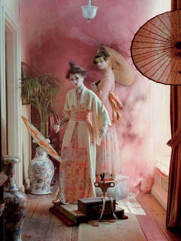 Mechanical Dolls,Tim Walker, Vogue Italia, October 2011