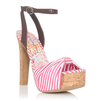 This is the best ever! Cold outside = shop for Springtime shoes!!