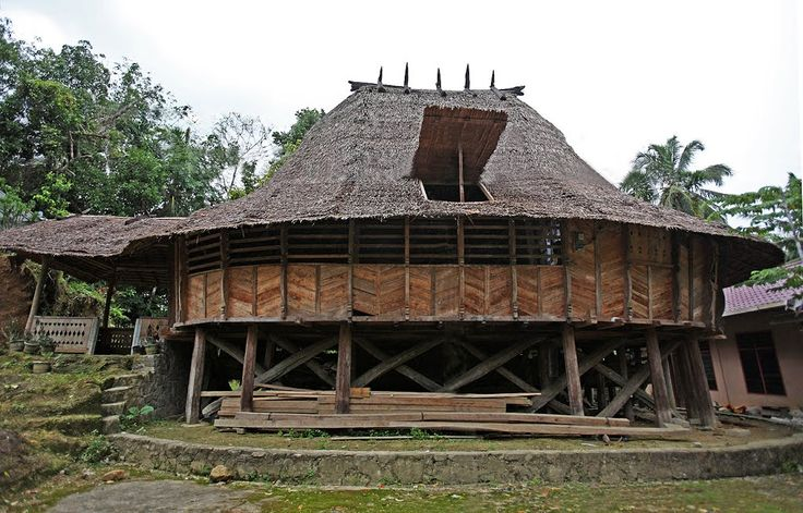 Ononazara Traditional House, North Nias Regency