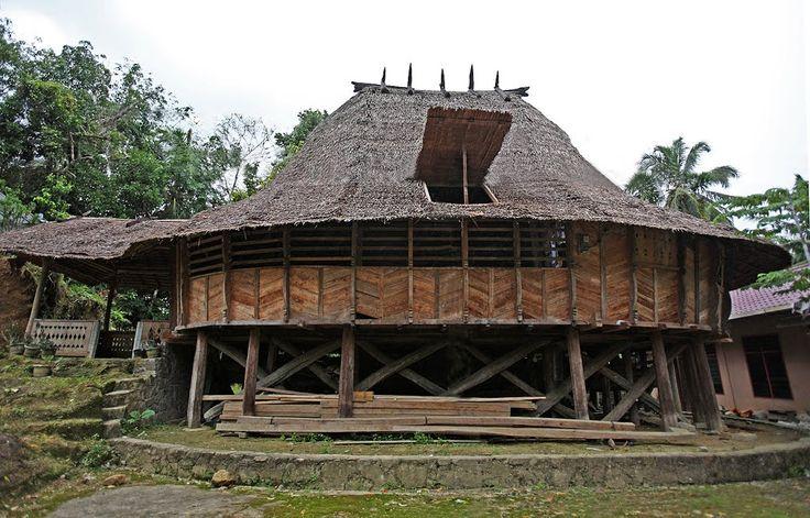 Ononazara Traditional House, North Nias Regency