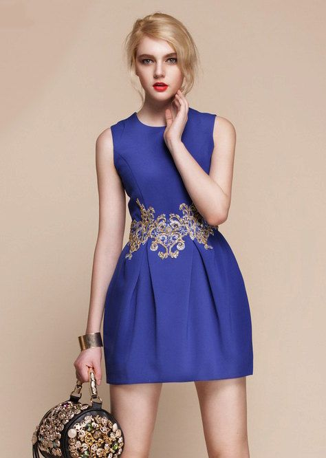 Blue Dress Small