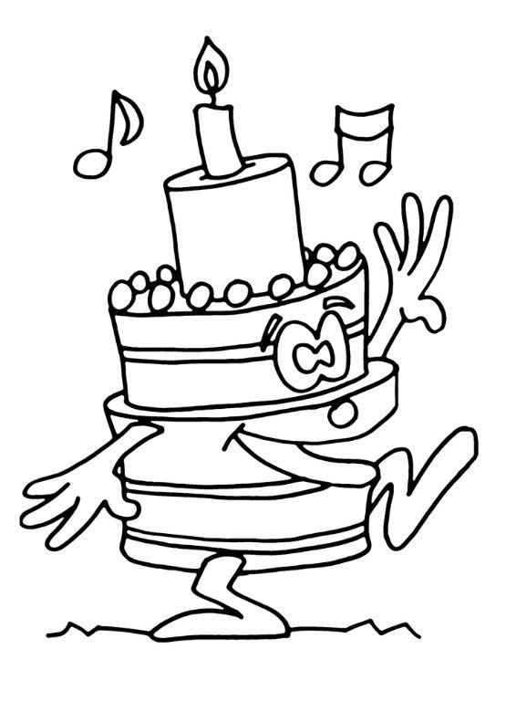 Kleurplaat Winnie De Pooh Verjaardag Kidkleurplaat Nl