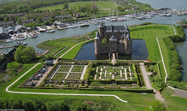Muiderslot - Castle near Amsterdam (established 1290).  This is the first castle I ever visited.