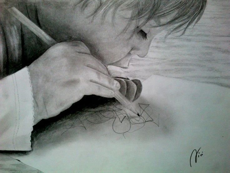 first drawing by vladena13.deviantart.com on @DeviantArt