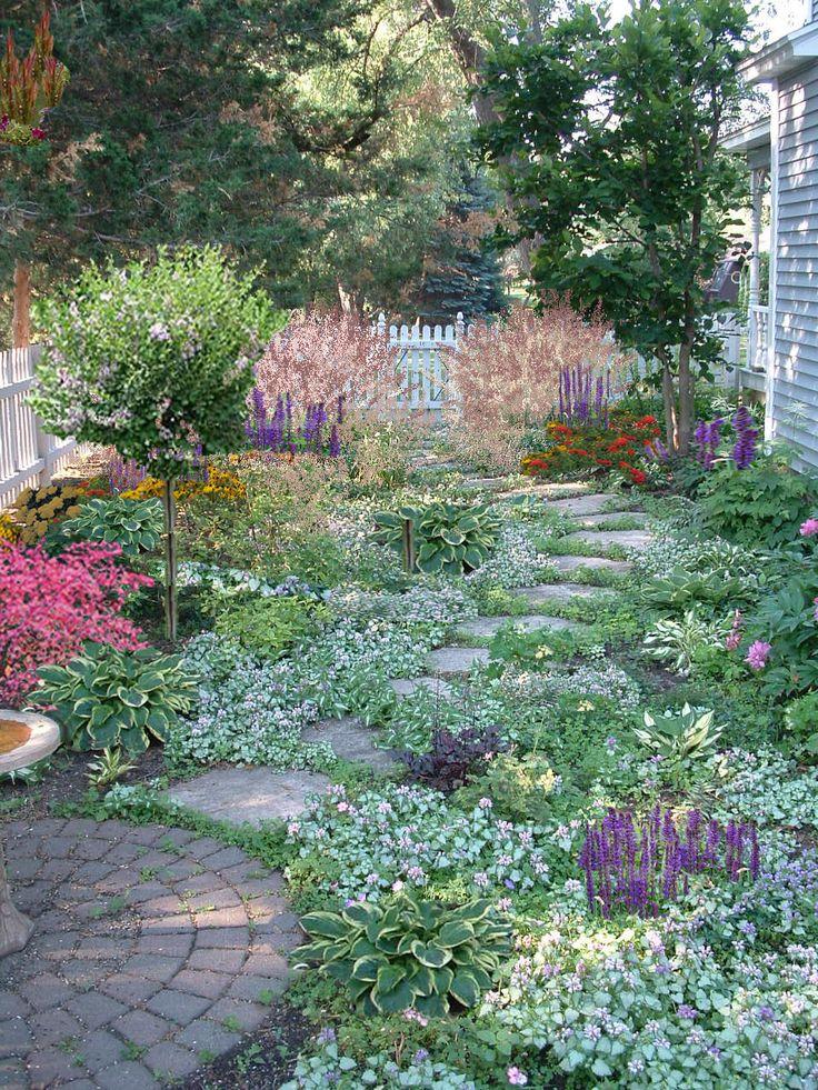 De 25+ Bedste Idéer Til Low Maintenance Landscaping På