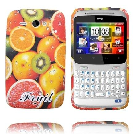Fresh Fruit (Kiivi) HTC ChaCha Silikonisuojus