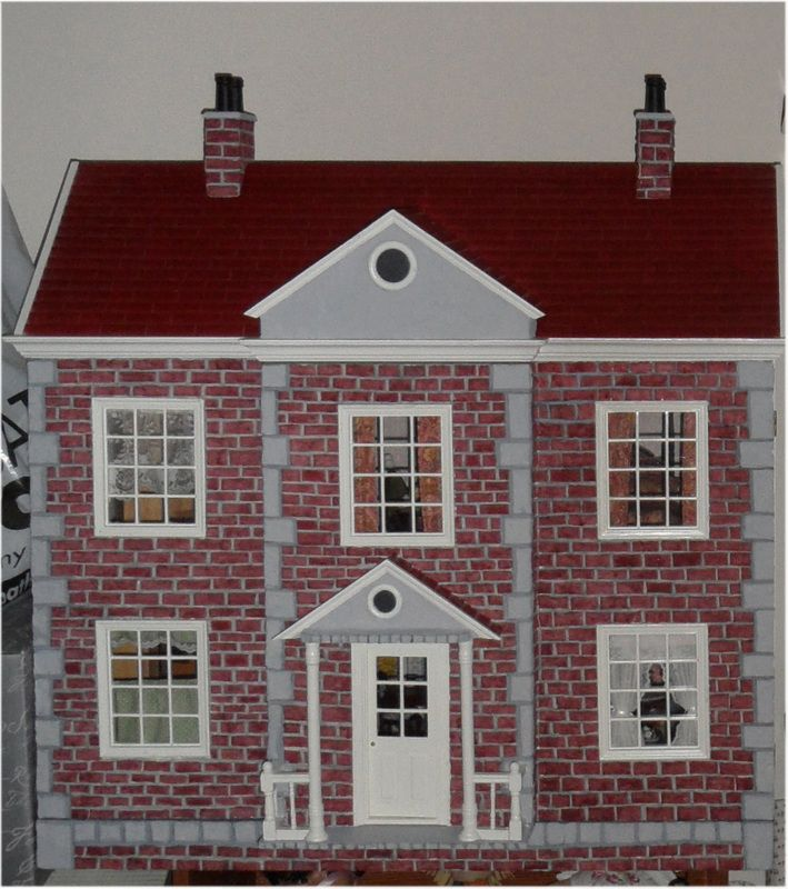 19 Best Dollhouse Exterior Ideas Images On Pinterest Doll Houses Dollhouses And Dollhouse