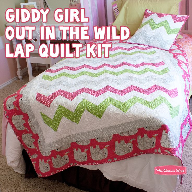 Chevron inspired: Chevron Quilts, Quarter Shops, Giddy Girls, Features Plays, Plays Date, Fat Quarter, Quilts Kits, Lap Quilts, Stella Fabrics