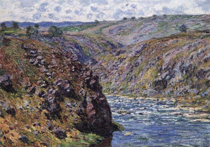 Η κοιλάδα του Creuse ηλιόλουστη (1889)