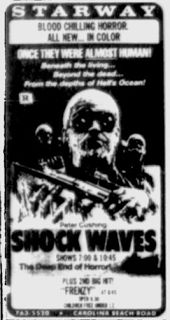 shockwaves 1977 | Groovy Doom: Shock Waves: Tourists Shouldn't Play with Wet Dead Things