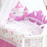 Украшения для детской кроватки с кармашками, купить украшение детской кровати на выписку #22недели #тортизподгузников #наклейкипомесяцам #метрикадлядевочки #наклейкинаодежду #вседлябеременных Выписка из роддома
