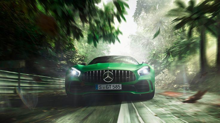 Pijlsnel: de Mercedes-AMG GT R draaide een rondje op de Nürburgring in slechts 7.10,9 minuten.
