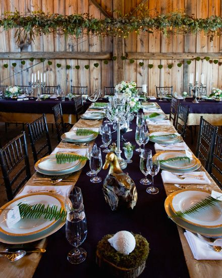 deco mariage foret