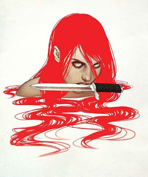 Red Sonja by Jenny Frison *