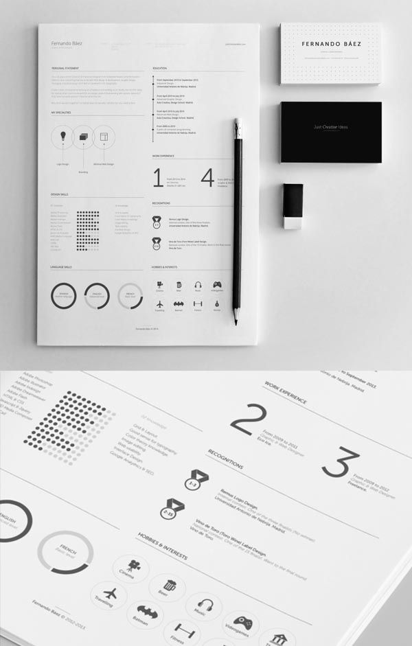 Best Creative Resumes Prepossessing 27 Best Cv Images On Pinterest  Creative Resume Creative .