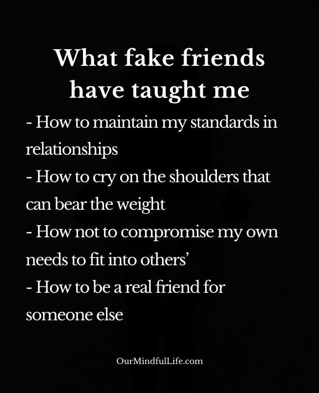 Pin On Fake Friends