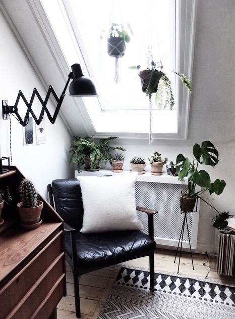 Reading Corner Urban Home Home Minimalist Decor