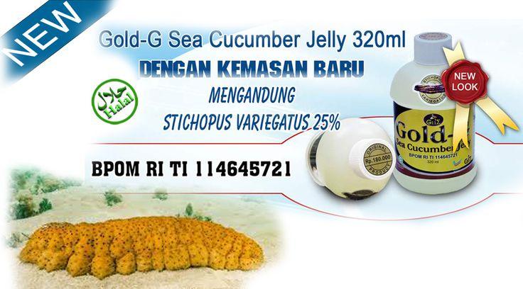Gold G Sea Cucumber Jelly di apotik