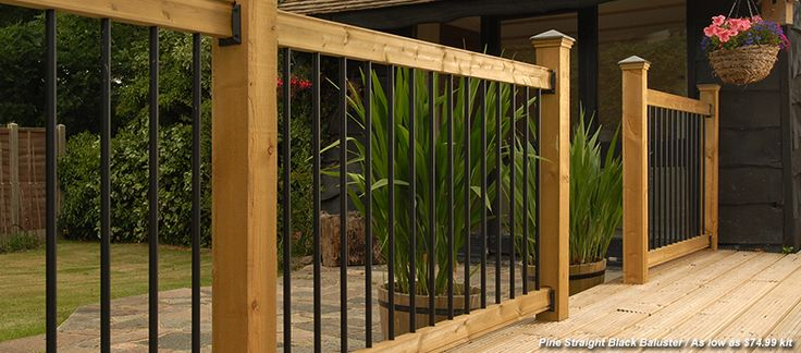 Deck Railing Kits View 100s of Deck Railing Ideas http://awoodrailing.com/2014/11/16/100s-of-deck-railing-ideas-designs/