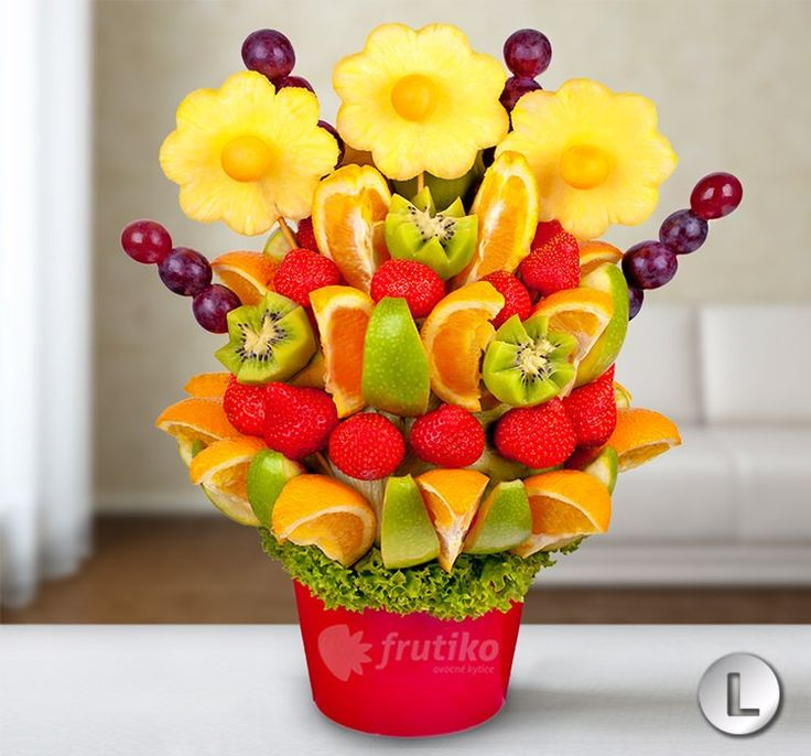 Original easter gift idea #giftidea #easter #forpleasure #fruitflower #yummyflower http://www.frutiko.cz/en/for-pleasure