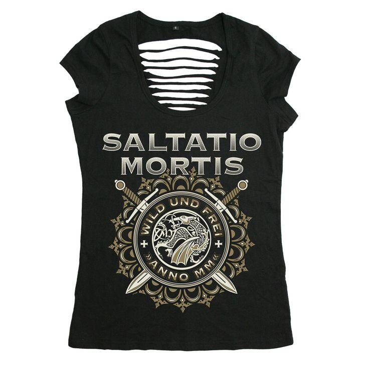 Wild & Frei Ornaments von Saltatio Mortis - Girlie Shirt jetzt im Saltatio Mortis Shop