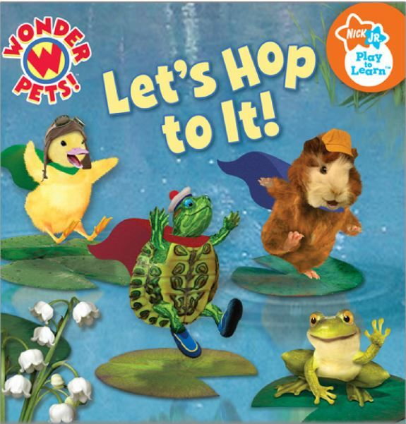 """Wonder Pets """"Let's Hop to It"""" free printable story book"""