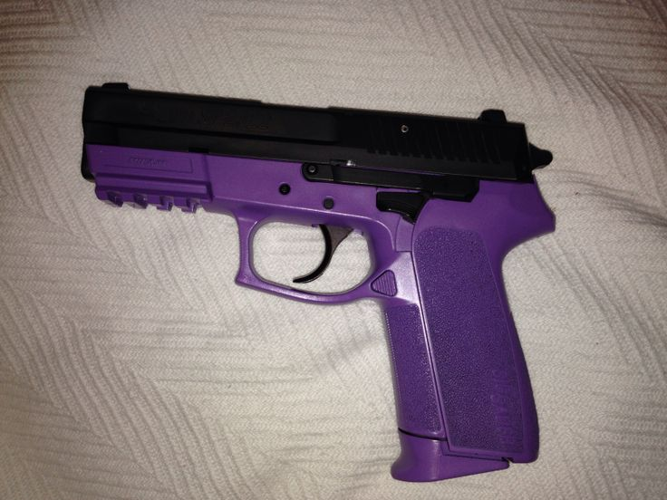 Sig Sauer SP2022 purple Self defense Pinterest