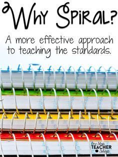 Spiral teaching is an important PART of my classroom. Learn about spiraling in math, reading, grammar, centers, homework, and more. (The homework is a lifesaver!). Where does it fit best and can it be used with standards based grading?