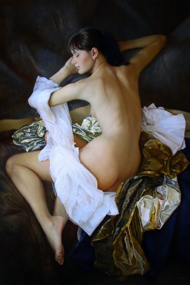 20 Super Seductive Women as Depicted in the Paintings of a Talented Russian Artist