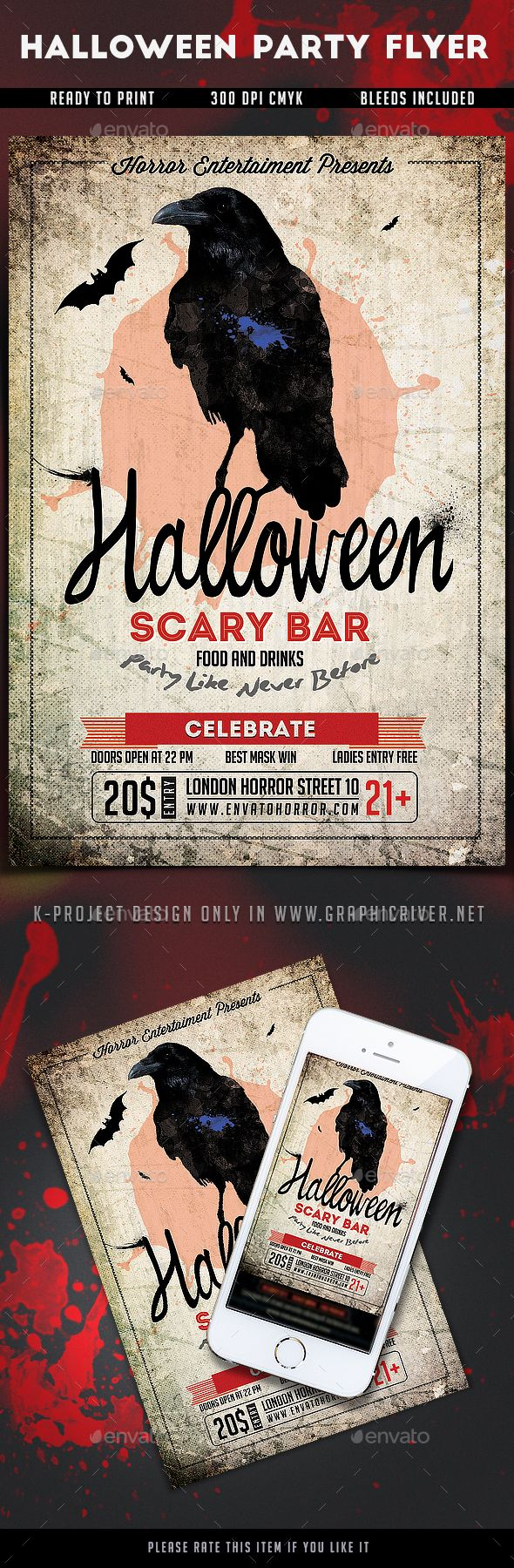 630 best Halloween Flyer Templates images on Pinterest