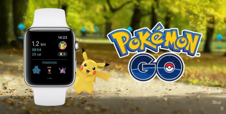 Pokémon Go arrives on the Apple Watch