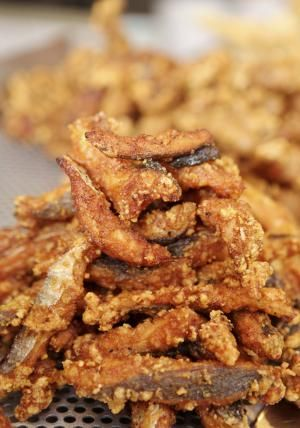 Italian Grilled or Fried Eel Recipe (Capitone grigliato o fritto): Fried Eel