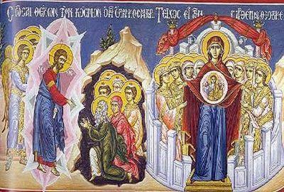 Περιβόλι της Παναγιάς: Οι Δ' Χαιρετισμοί της Θεοτόκου