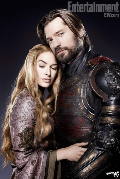 Jaime & Cersei Lannister. Incest is so wrong, but this book series is so right. Read it!!!