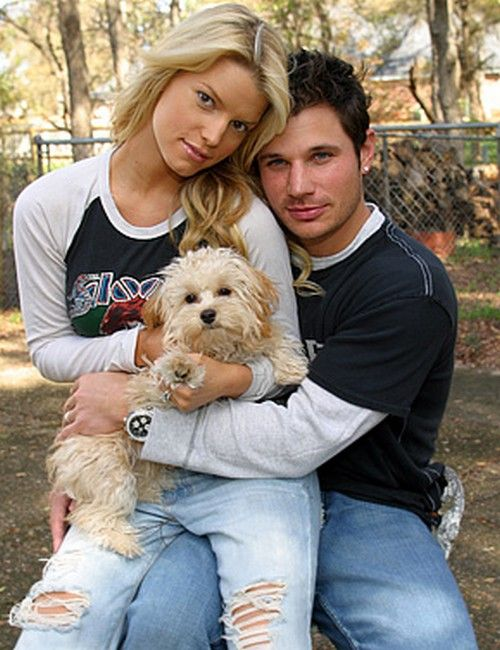 Jessica Simpson and Nick Lachey. Divorced. Both have moved on and had babies..