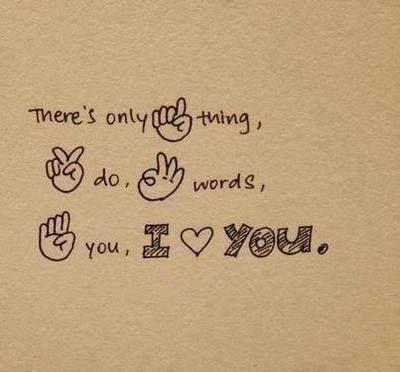 mooie gebarentaal :)