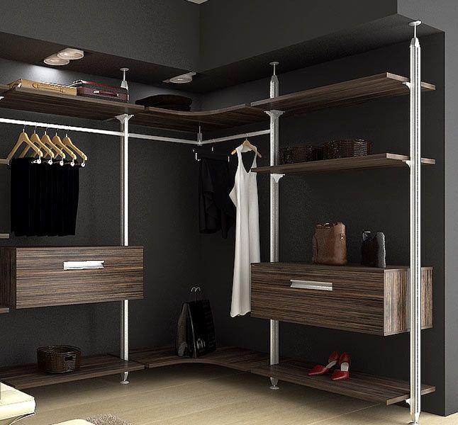 Стильные гардеробные комнаты