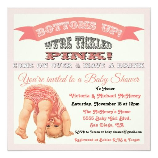 311 best images about vintage baby shower invitations on pinterest,