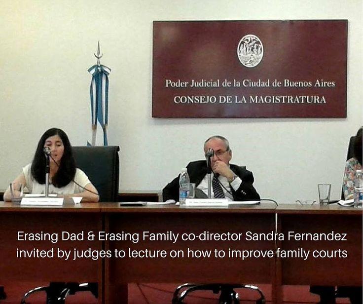 Sandra Fernández - Borrando a Papá - Consejo de la Magistratura CABA