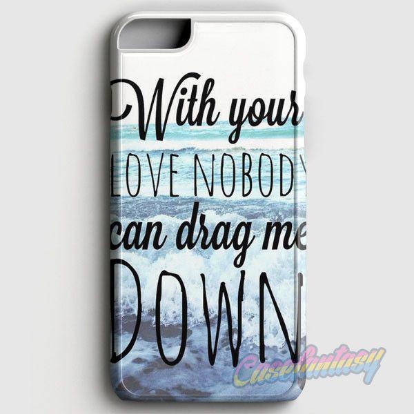 One Direction Drag Me Down Lyric Collage iPhone 6 Plus/6S Plus Case | casefantasy