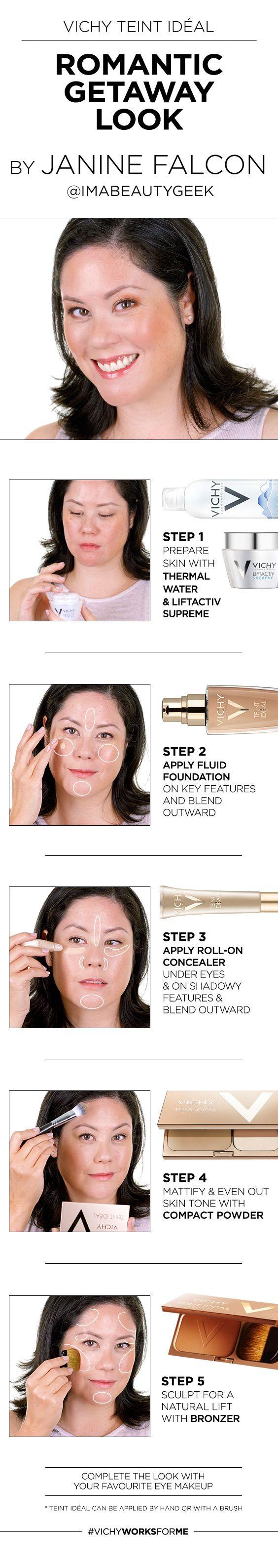 Find your Teint Idéal : http://www.vichy.ca/en/makeup-teint-ideal-info