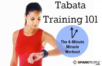 Never heard of tabata training? Here's what it's all about. @SparkPeople