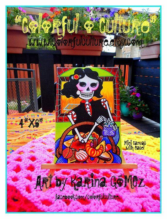 A Que Hora Sales por el Pan Bizcochito by ColorfulCulture on Etsy
