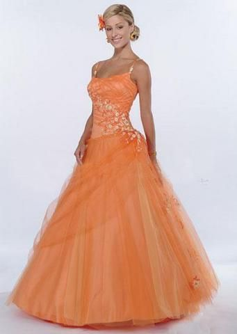 orange gowns – Google Search