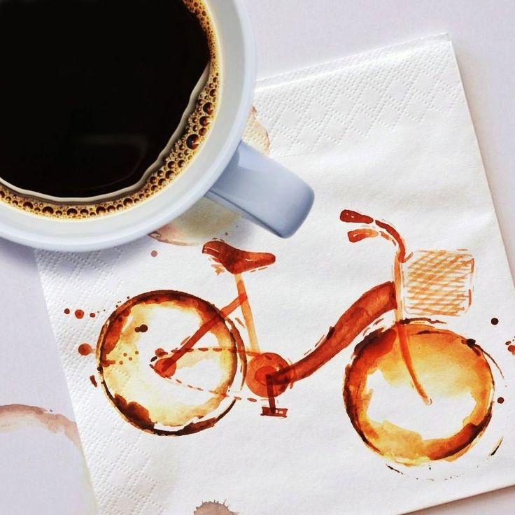 подпись к картинке с кофе
