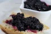 Ready in 30 minutes, homemade, black mulberry jam